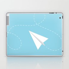 #38 Paperplane Laptop & iPad Skin