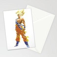 Saiyan Ink Hero Stationery Cards