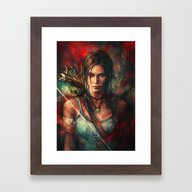 Framed Art Print featuring Rebirth by Alice X. Zhang