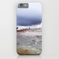 Man on the moon, Iceland iPhone 6 Slim Case