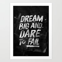 II. Dream big Art Print