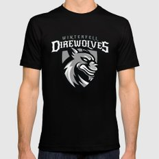 Direwolves SMALL Black Mens Fitted Tee