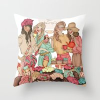 Sweet Temptation Throw Pillow