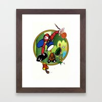 Mario LandS Framed Art Print