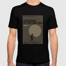 Raiders of the Lost Ark Mens Fitted Tee Black SMALL