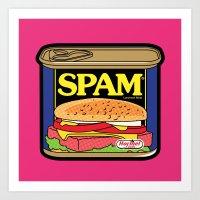 Pop Icon - Mail Box Art Print