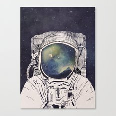 Dreaming Of Space Canvas Print