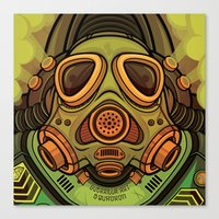 Guerrilla Art Squadron R… Canvas Print