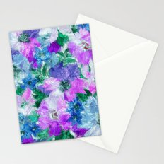 Splendid Flowers 3 Stationery Cards