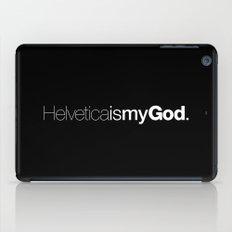 HelveticaismyGod #02 iPad Case