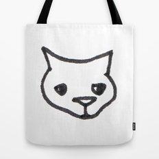 Concerned Cat Tote Bag