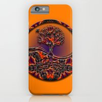 iPhone & iPod Case featuring Tree Of Designs by Mr D's Abstract Adventures