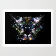 My Eagle - Magic Vision Art Print