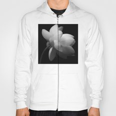 Black & While Lotus II Hoody