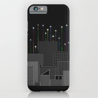 iPhone & iPod Case featuring City Space To The Stars by Logan Schraeder