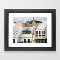 Rooftops Of Paris 1 Framed Art Print