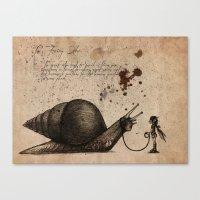The Fairy Otler  Canvas Print