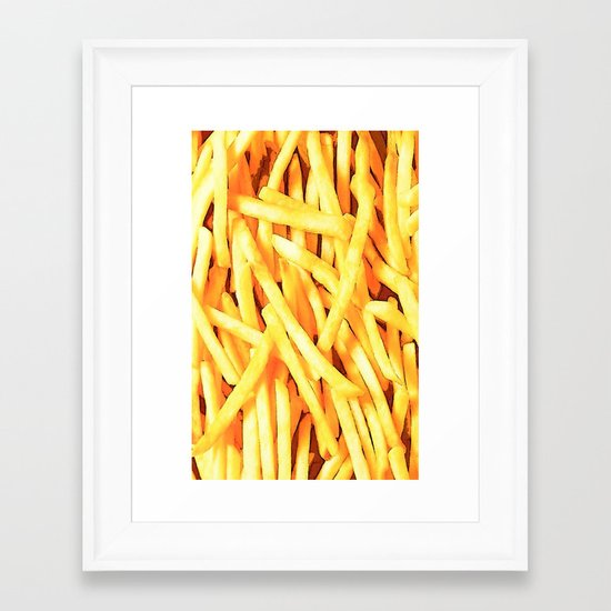 FRENCH FRIES for IPhone Framed Art Print