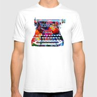 Creative Object Mens Fitted Tee White SMALL