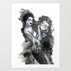 Mage Art Print