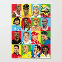 Select Your Athlete Canvas Print