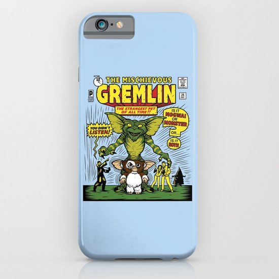 The Mischievous Gremlin iPhone & iPod Case