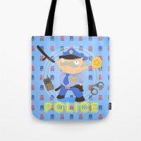 Police Tote Bag
