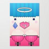 Candy the Valentine's Spirit Canvas Print