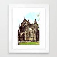 Glasgow Cathedral Mediev… Framed Art Print