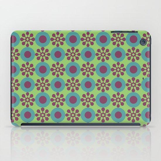 Retro Modern Flower Power iPad Case