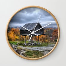 Heart in a Cage Wall Clock