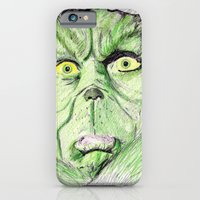 iPhone & iPod Case featuring Grinch by DeMoose_Art