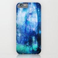 Blue Night #Wood iPhone 6 Slim Case