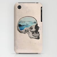 iPhone 3Gs & iPhone 3G Cases featuring Brain Waves by Chase Kunz