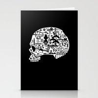 Icon Skull Stationery Cards