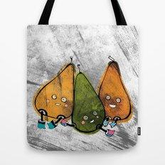 Drunken Pears Brothers Tote Bag