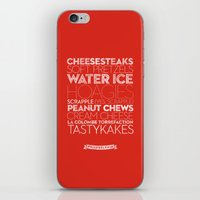 Philadelphia — Delicio… iPhone & iPod Skin