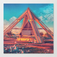 MORNING TRIANGLE WORSHIP (everyday 05.16.16) Canvas Print