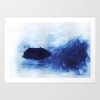 Frozen Deep Art Print
