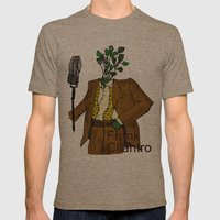 Frank Cilantro Mens Fitted Tee Tri-Coffee SMALL