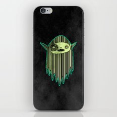 Phosphorescent Ghost iPhone & iPod Skin