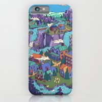 iPhone & iPod Case featuring Try Not to Step on Anything This Time by Valeriya Volkova