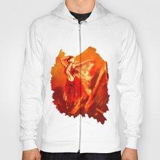 Ateş rengi Hoody