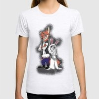 A Zoo Hope Womens Fitted Tee Ash Grey SMALL