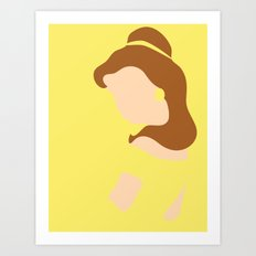 Belle - Beauty - Beauty … Art Print