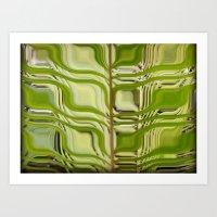 Abstract Germination Art Print
