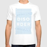 Disorder Mens Fitted Tee White SMALL