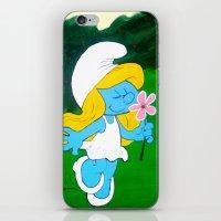 Smurfette  iPhone & iPod Skin