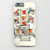 iPhone & iPod Case featuring Japanese building by Natsuki Otani