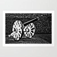Ayr Cannon Art Print